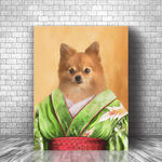 GEISHA - CUSTOM DOG CANVAS (Premium)