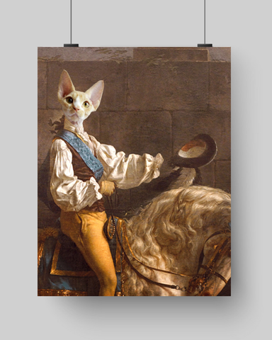 HORSE WHISPERER - CUSTOM CAT POSTER (Premium)