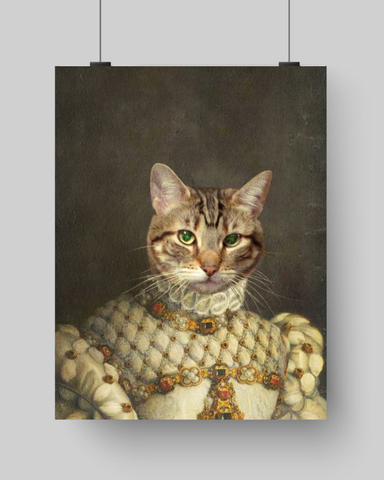 MADAM ALASTAIR - CUSTOM CAT POSTER (Premium)