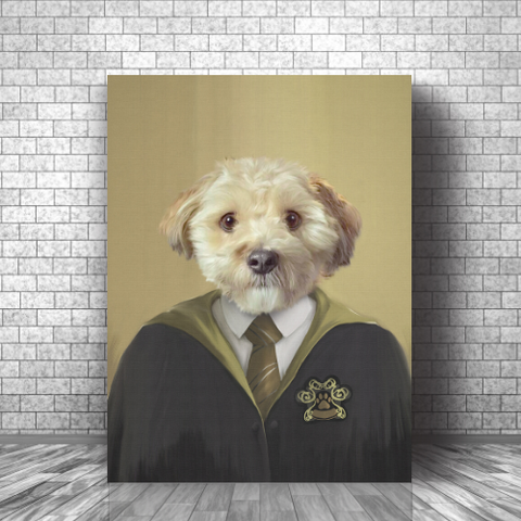 HUFFLEPEE - CUSTOM DOG CANVAS (Premium)