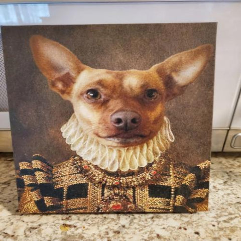 BAILEY - CUSTOM DOG CANVAS (Premium)
