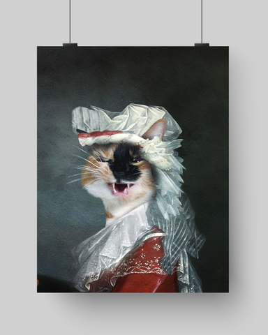 PRINCESS - CUSTOM CAT POSTER (Premium)