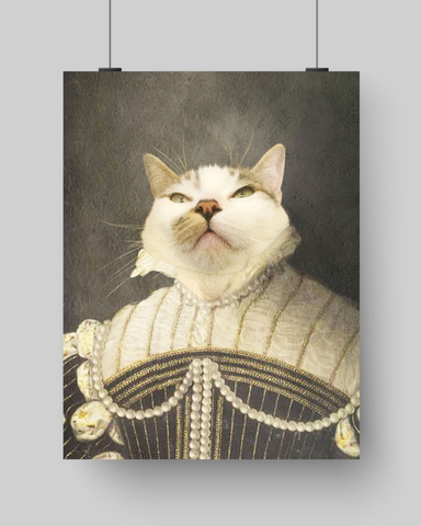LADY MARGARET - CUSTOM CAT POSTER (Premium)