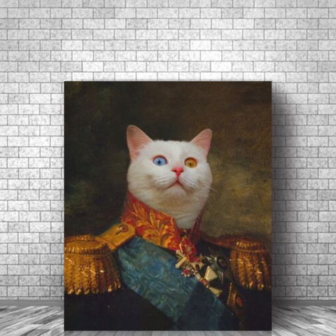SPANISH GENERAL - CUSTOM CAT CANVAS (Premium)