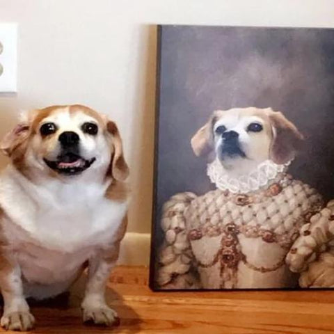 MADAM ALASTAIR - CUSTOM DOG CANVAS (Premium)