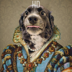 MAIDEN LADY - PETS CUSTOM DIGITAL ART PREVIEW