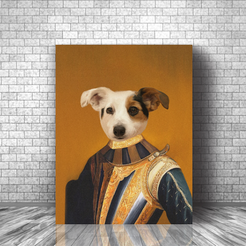 CHEVALIER - CUSTOM DOG CANVAS ( Premium)