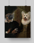 LORD WILLIAM & LADY SABINE - MULTI-PET POSTER (Premium)