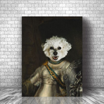 BELLONA - CUSTOM DOG CANVAS ( Premium)