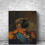 SPANISH GENERAL - CUSTOM DOG CANVAS (Premium)