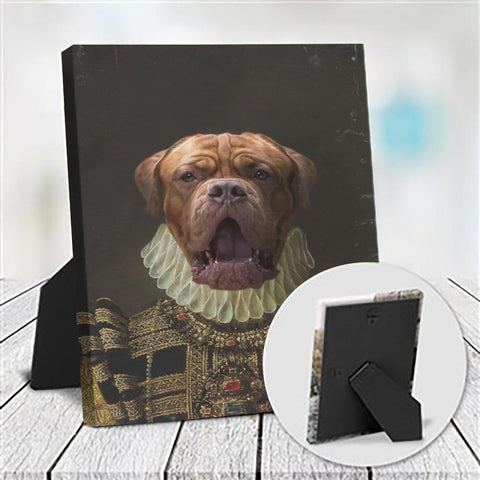 BAILEY - CUSTOM DOG TABLETOP CANVAS (Premium)