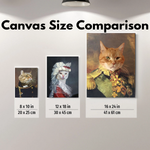 LADY PURRINGGALE - CUSTOM PEOPLE CANVAS (Premium)