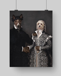 LORD ALEXANDER & LADY URSULA - CUSTOM MULTI-PET POSTER (Premium)