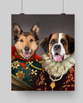 KING ANTHONY & QUEEN ISABEL - MULTI-PET POSTER (Premium)