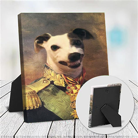 GENERAL OSBERT - CUSTOM DOG TABLETOP CANVAS (Premium)