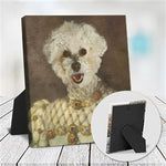 MADAM ALASTAIR - CUSTOM DOG TABLETOP CANVAS (Premium)