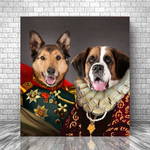 KING ANTHONY & QUEEN ISABEL - MULTI-PET CANVAS (Premium)