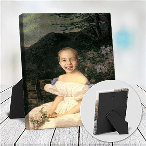 PRINCESS INGRID - CUSTOM KID TABLETOP CANVAS (Premium)