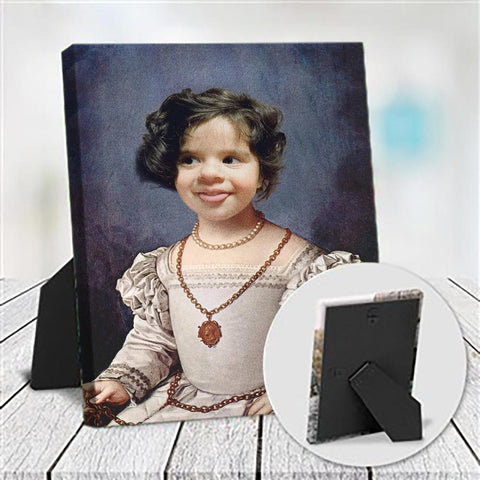 YOUNG LADY SABINE - CUSTOM KID TABLETOP CANVAS (Premium)