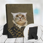 LORD ALFONSO - CUSTOM CAT TABLETOP CANVAS (Premium)