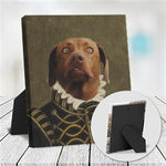 LORD ALFONSO - CUSTOM DOG TABLETOP CANVAS (Premium)