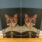 LADY MARGARET - CUSTOM CAT CANVAS (Premium)