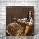 HORSE WHISPERER - CUSTOM PEOPLE CANVAS (Premium)