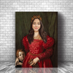 PRINCESS CAMELIA - CUSTOM PEOPLE CANVAS (Premium)
