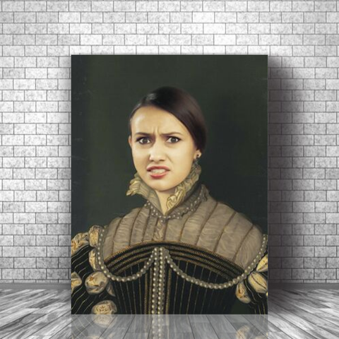 LADY MARGARET - CUSTOM PEOPLE CANVAS (Premium)