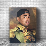 GENERAL OSBERT - CUSTOM PEOPLE CANVAS (Premium)