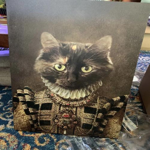 BAILEY - CUSTOM CAT CANVAS (Premium)