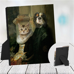 LORD ARCHIBALD & LADY LUCY - MULTI-PET TABLETOP CANVAS (Premium)