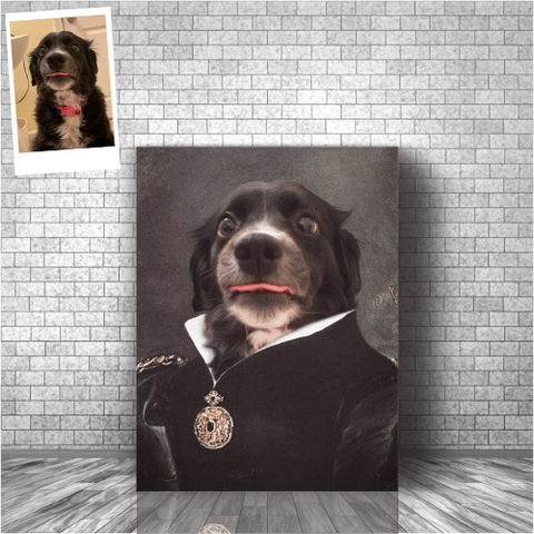 EMPRESS - CUSTOM DOG CANVAS (Premium)