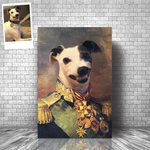 GENERAL OSBERT - CUSTOM DOG CANVAS (Premium)