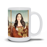 QUEEN LAVINIA - CUSTOM PEOPLE MUG (Premium)
