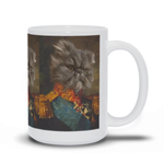SPANISH GENERAL - CUSTOM CAT MUG (Premium)