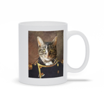 NAVY - CUSTOM CAT MUG (Premium)