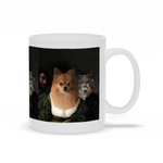 HAPPY ROMANCE - CUSTOM MULTI-PET MUG (Premium)