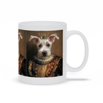 MEDIEVAL KING - CUSTOM DOG MUG (Premium)