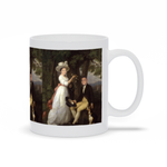 GARDEN WEDDING  - CUSTOM COUPLES MUG (Premium)