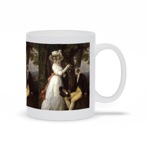 GARDEN WEDDING  - MULTI-PET MUG (Premium)