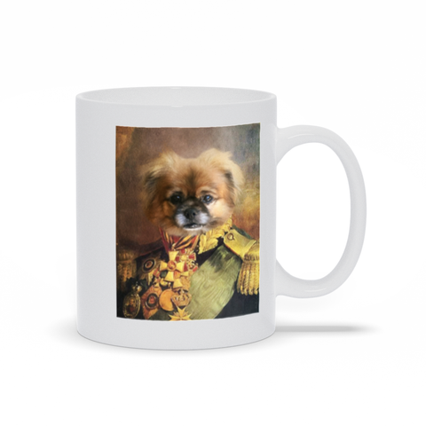 GENERAL OSBERT - CUSTOM DOG MUG (Premium)