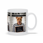 PAWING INMATE - CUSTOM DOG MUG (Premium)