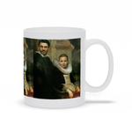 LORD ARCHIBALD & LADY LUCY - CUSTOM COUPLES MUG (Premium)