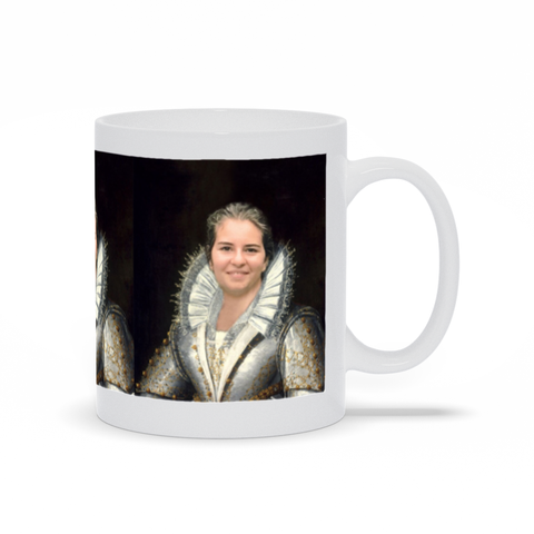 MADEMOISELLE - CUSTOM PEOPLE MUG (Premium)