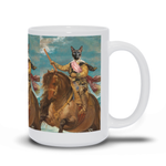 HORSE WARRIOR - CUSTOM CAT MUG (Premium)