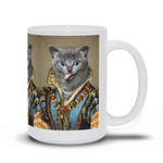 MAIDEN LADY - CUSTOM CAT MUG (Premium)