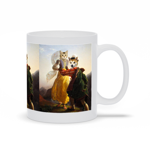 RUNAWAY LOVERS - MULTI-PET MUG (Premium)