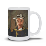 NAVY - CUSTOM PEOPLE MUG (Premium)