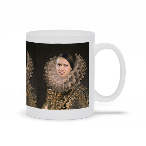 LADY CATORIA BRIGHT - CUSTOM PEOPLE MUG (Premium)